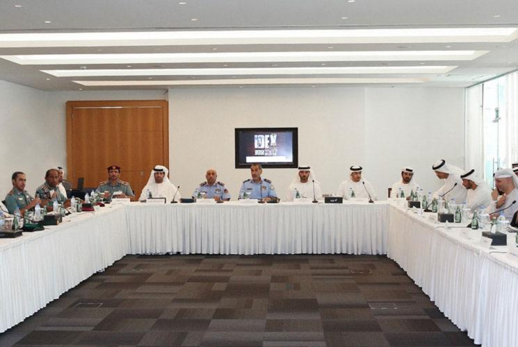 Higher Organising Committee of IDEX 2017 and NAVDEX 2017 Review Preparations